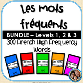 Les mots fréquents - French High Frequency Words -BUNDLE-