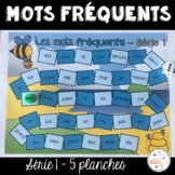 Les mots fréquents - Série 1 - Jeu de société - French Sig