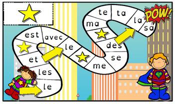 """Les """"mots outils"""" des supers-héros (niveau 1)"""