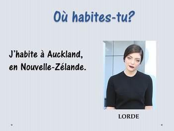 Les nationalités en français - French lesson about nationalities