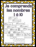 Les nombres 1 à 10 (numbers 1-10)