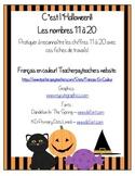 Les nombres 1 à 20 - C'est l'Halloween