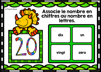 Les nombres - BOOM Cards - Chiffres à lettres - French Numbers