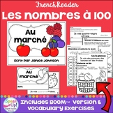 Les nombres à 100 ~ French Counting Fruit by 10's Reader + BOOM™ version w audio