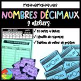 Les nombres décimaux - cartes à tâches!