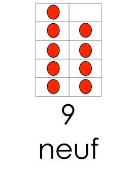 Les numeros 0 a 10