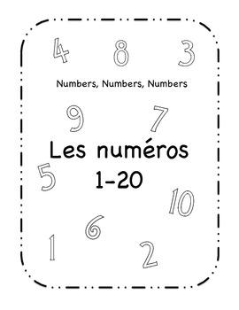 Les numéros 1-20