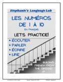French Numbers 1-10 / Les numéros 1-10 en français