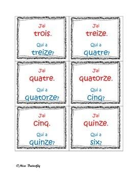Les numéros en français