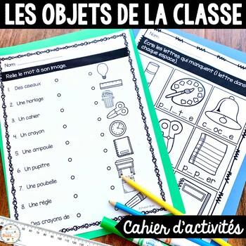 Les objets dans la classe - Cahier d'activités de l'élève