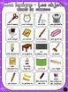 Les objets dans la classe - Ensemble - French Classroom ob