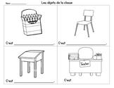 Les objets de la classe - Grade 1 Classroom Vocab Activity