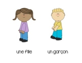 Les objets de la salle de classe - Classroom Objects Flashcards in French