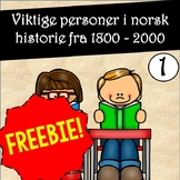 Les og forstå faktatekster! Viktige personer i norsk histo