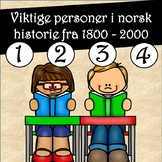 Les og forstå faktatekster! Viktige personer i norsk historie 1-4