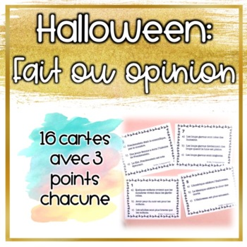 Les opinions d'Halloween