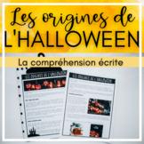 French Reading Comprehension  - Les origines de l'Halloween