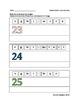Les pages d'activités «construction de mots» : les nombres