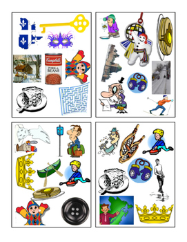 Les paires au Carnaval - small group game