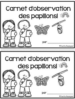 Les papillons - activités pour la lecture, l'écriture, les rimes et le son ille
