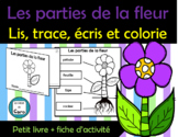 Les parties de la fleur - Petit livre et fiche d'activité
