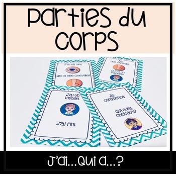 Les Parties du Corps j'ai qui a