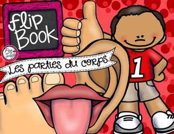 Les parties du corps - Flip Book