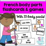 French body parts - Les parties du corps
