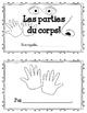Les parties du corps! Mini book (FRENCH)