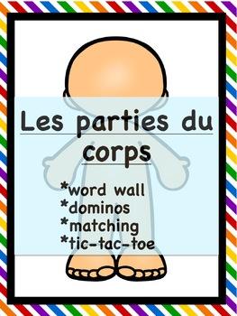 Les parties du corps - Vocabulary
