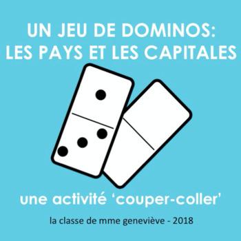 Les pays et les capitales : un jeu de dominos