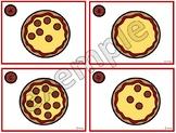 Les pepperonis sur la pizza