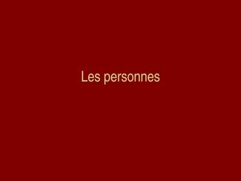 Les personnes