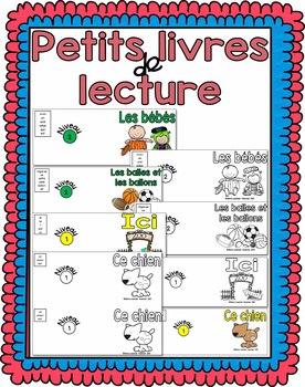 Les petits livres de lecture - (French Readers) Niveaux 1 et 2