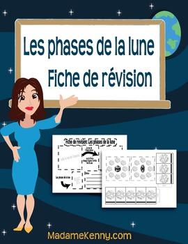 Les phases de la lune: Fiche de révision