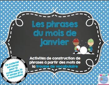 Les phrases du mois de Janvier/ French sentences of January