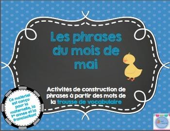 Les phrases du mois de mai/ French sentences Month of May