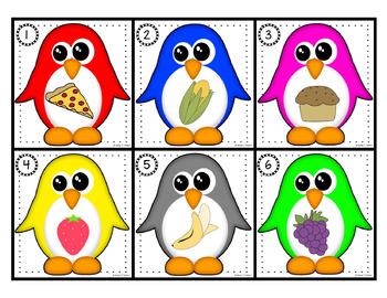Les pingouins ont faim!