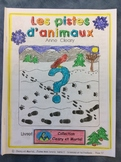 Les pistes d'animaux - French -Animals - Grade 1