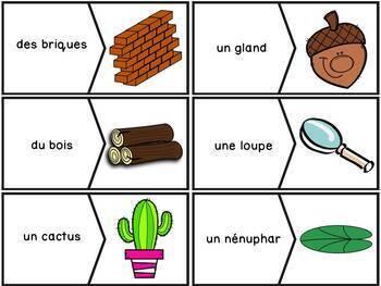 Les plantes et le sol - 81 puzzles - French Plants and Soil