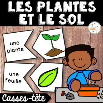 Les plantes et le sol - 39 puzzles - French Plants and Soil