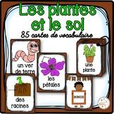 Les plantes et le sol - 85 cartes de vocabulaire