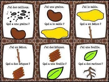 Les plantes et le sol - Ensemble complet - French Soil and Plants - Bundle