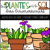 Les plantes et le sol dans l'environnement (Plants and Soils in the Environment)