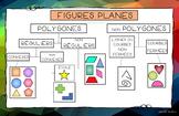 Les polygones / Figures planes / Géométrie