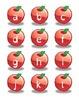 Les pommes / Falling Apples Letter Matching Game