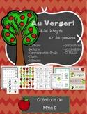 Les pommes - French activity bundle
