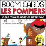 Les pompiers - Activité adaptée à l'autisme - Boom cards
