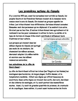 Les premières communautés au Canada