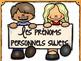 Les pronoms personnels sujets-Affiches, (Personal Pronouns Vertical Posters)